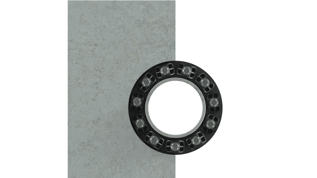wall penetration seal