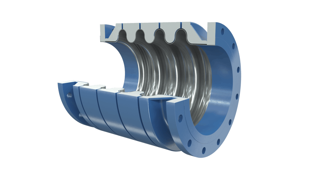 Metal Bellows Expansion Joint, hydroformed