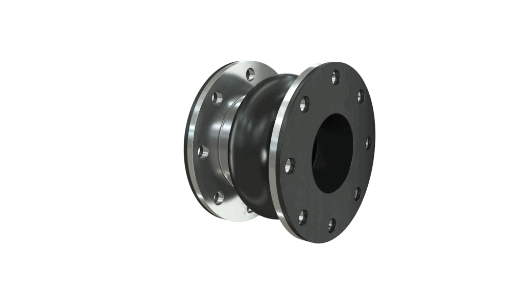 Wide Arch Rubber Expansion Joint
