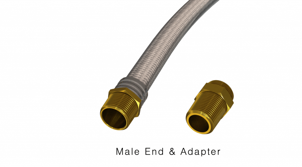 ELF Male End and Adapter