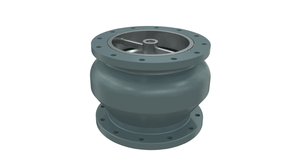 globe style silent check valve