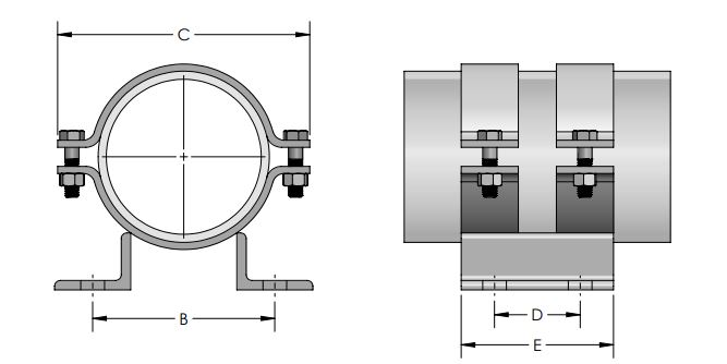 Pipe Anchor Clamp reference